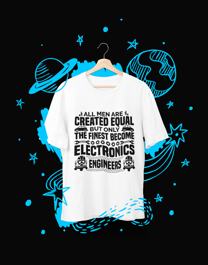 All men are created equal - T-Shirt - Shirto.nl