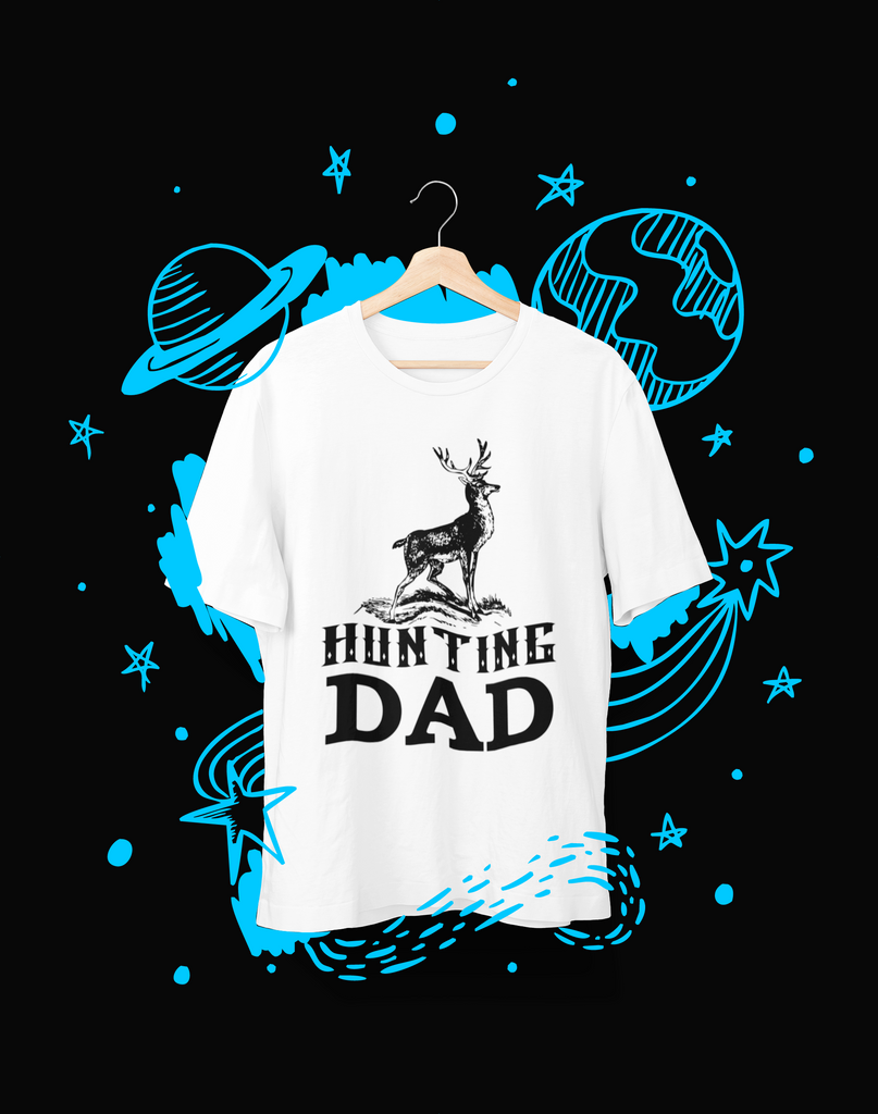 Hunting Dad - T-Shirt - Shirto.nl