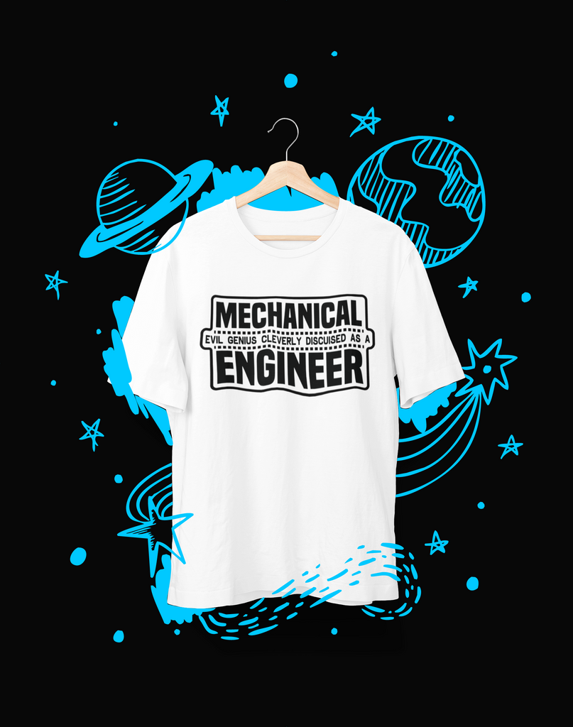 Mechanical evil - T-Shirt - Shirto.nl