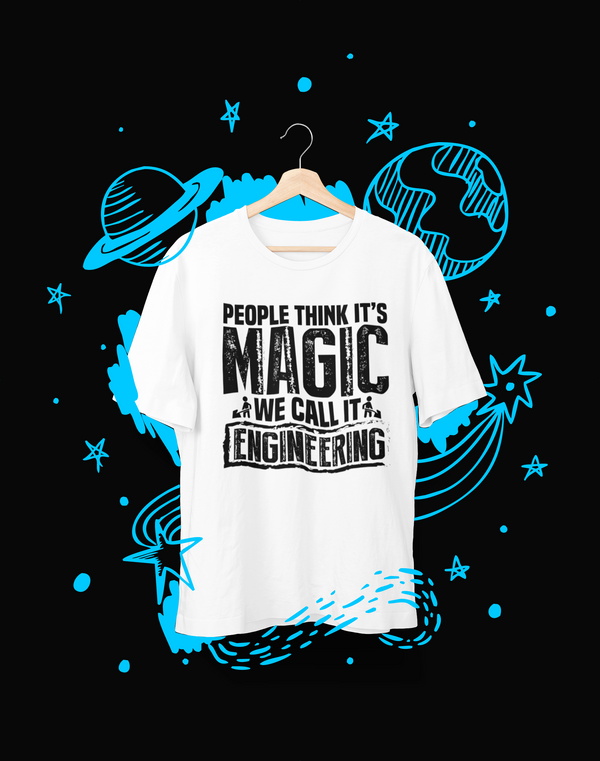 People think its Magic - T-Shirt - Shirto.nl