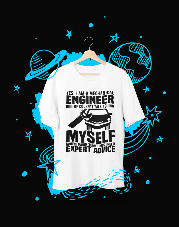 Yes, I Am A Mechanical - T-Shirt - Shirto.nl