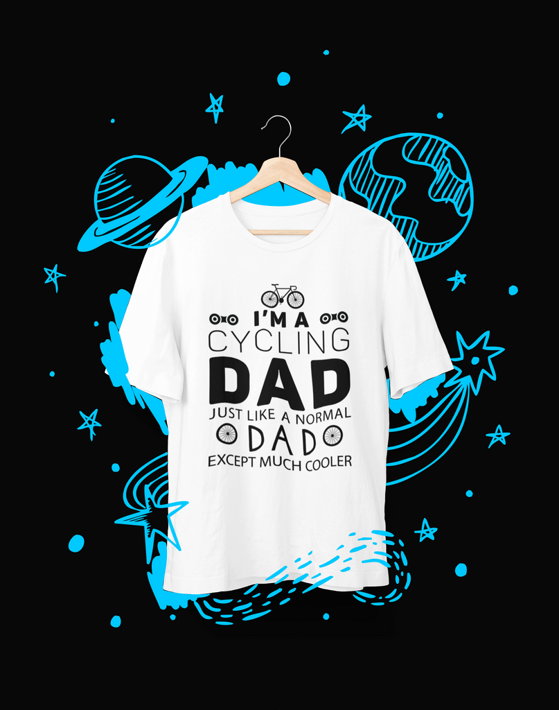 I'm A Cycling Dad - T-Shirt - Shirto.nl