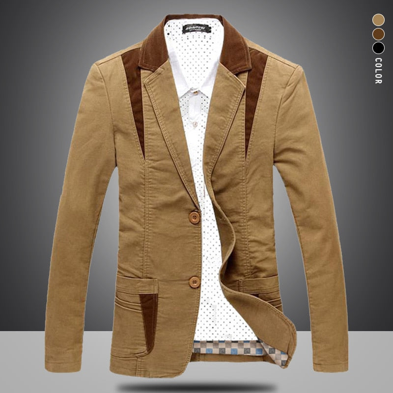 Brand Mens Casual Blazer Designer Fashion Male Suit Jacket Men Blazer Masculino Slim Fit Clothing Vetement Homme M~6XL BF8012