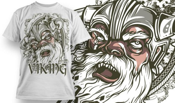 Absolute Viking T-Shirt - Omega Design