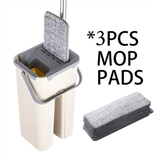 Mop Set With 8 Washable Pads