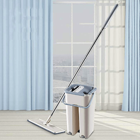 2020 NEW No-hand Washing Lazy Mop