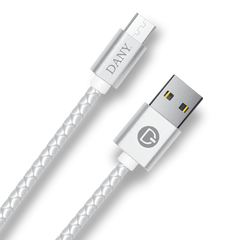 B-550 (Braided Leather-Android Cable) - Dany Technologies