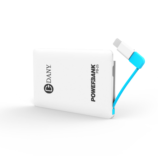 Pb-25 (2500 Mah) Power Bank - Dany Technologies