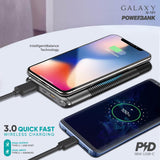 Galaxy G-101 (10,000 mAh) 18W Wireless Power Bank