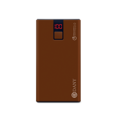 PB-108 10,000 mAh Power Bank (Dark chocolate Color) - Dany Technologies