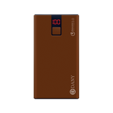 PB-108 10,000 mAh Power Bank (Dark chocolate Color)