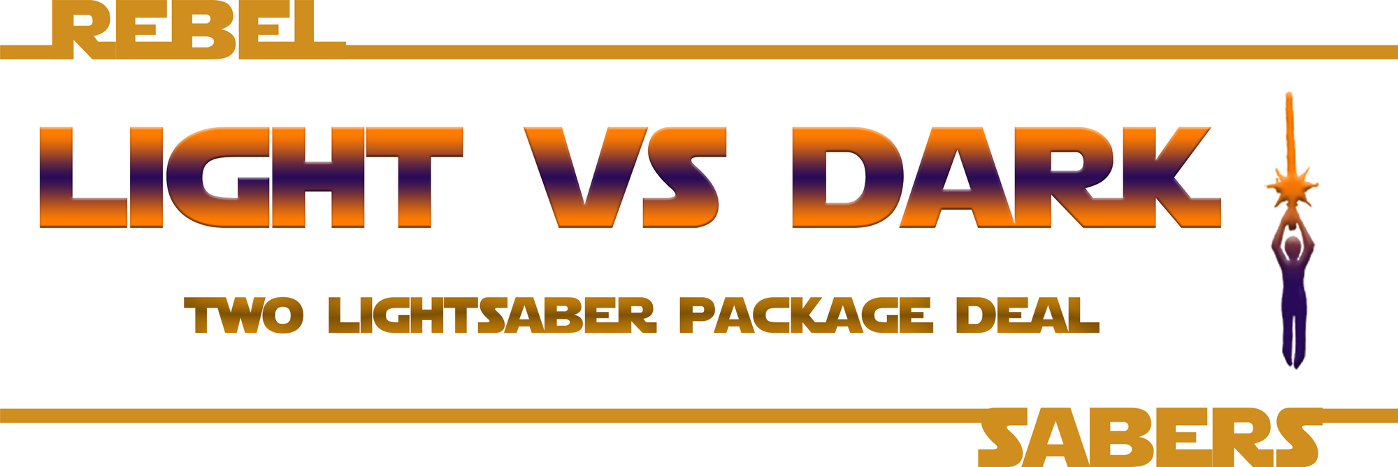 Light VS Dark 2-saber Package