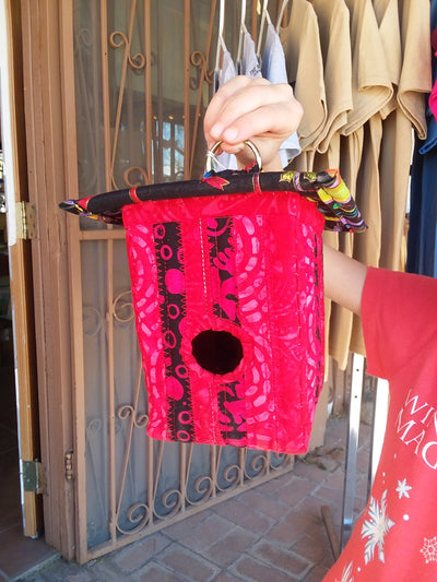The Bird House  ( In Tubac Arizona ) Handmade Needle Art Bird Houses ( In Tubac Arizona )