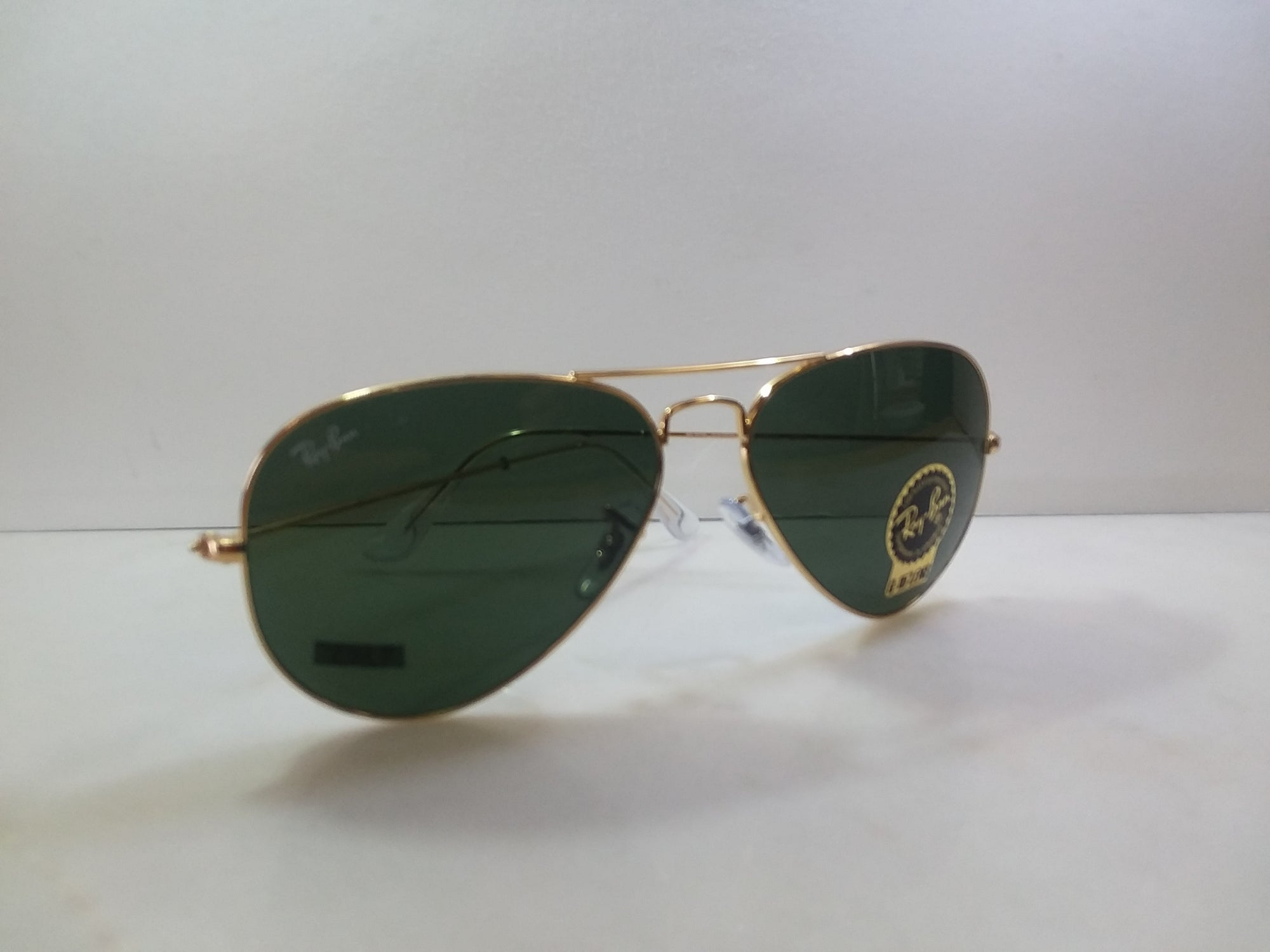 Ray Ban / Color / Gloss Black / Syle / Polarized Aviator Eye Size 62