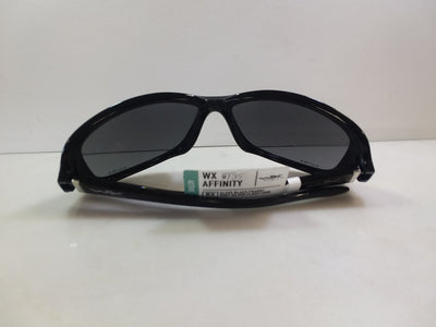 Wiley-X Safety Sunglasses / Color / Gloss Black / Style / Affinity / Eye Size 61