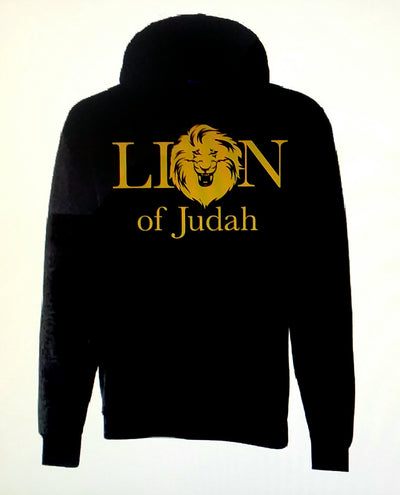 Lion of Judah Black Pocket Hoodie