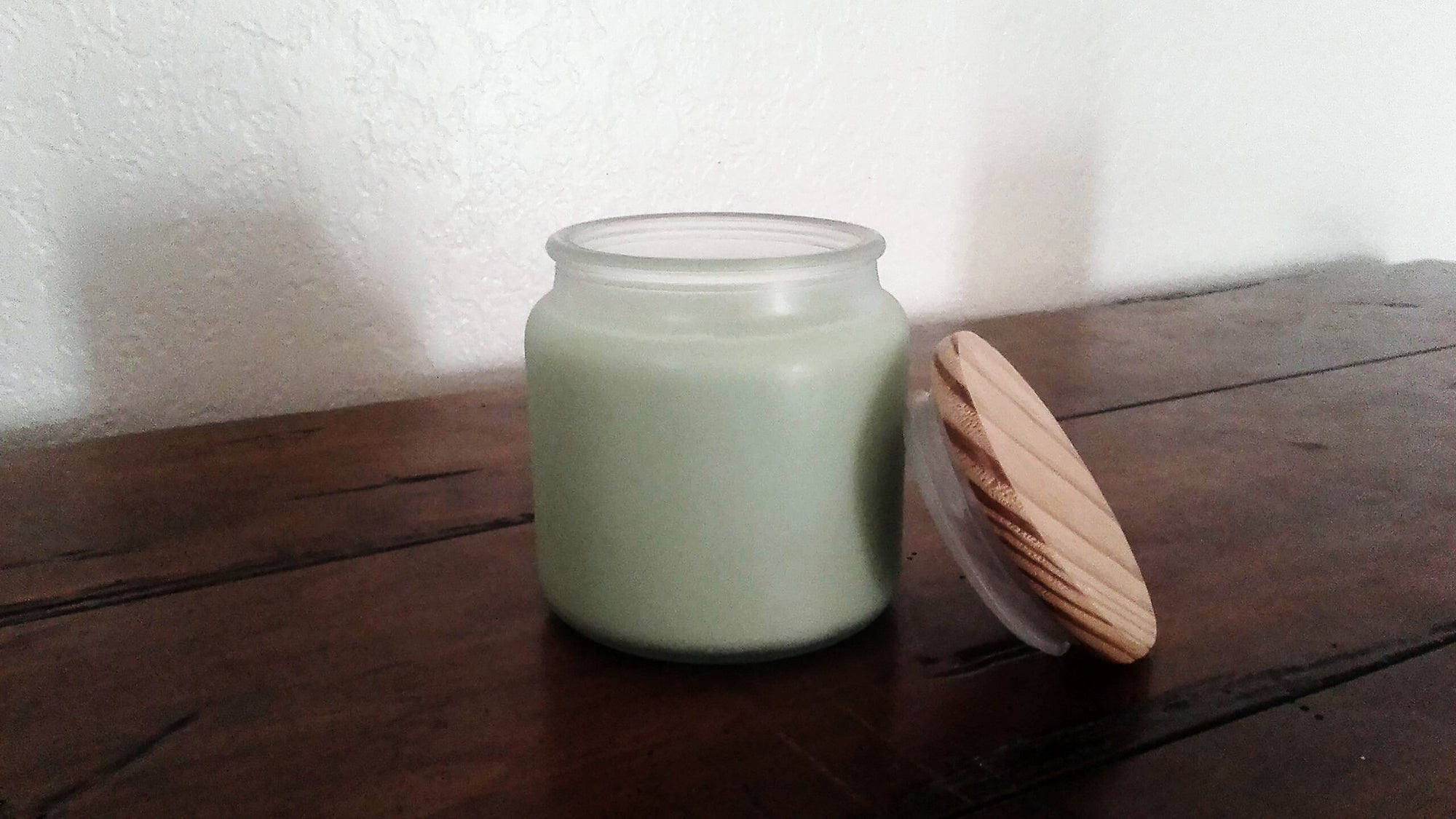 Candles of the Month 100% Soy Candles ( Scent: Lime Spritzer )