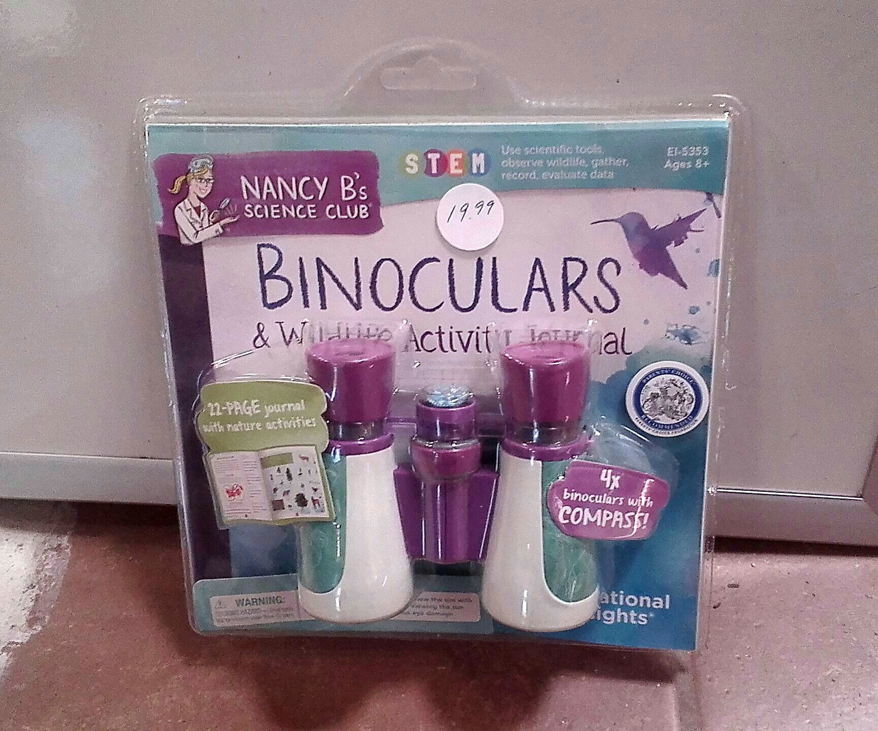 Children's Bird Binoculars and Watching Activities