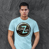 Mens T-Shirt for DTG CruZen Tunes Bicycle Brand Apparel