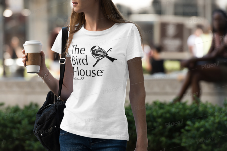 Ladies Birdhouse T-Shirts Apparel ( Available for Pick Up at The Birdhouse  in Tubac Arizona)
