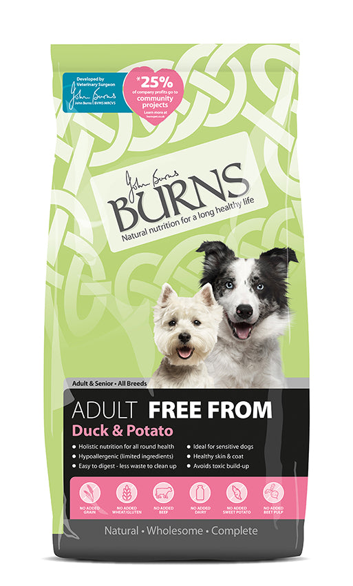 Burns Free From Adult - Duck & Potato
