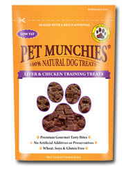 Pet Munchies Training Treats - Liver & Chicken