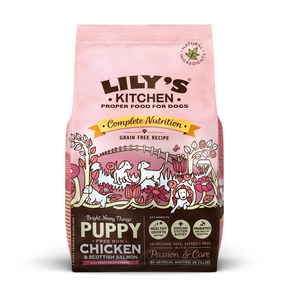 Lilys - Chicken & Salmon for Puppies