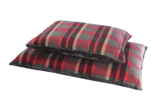 Gor Pets - Camden Comfy Cushion Red Check