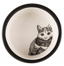 Load image into Gallery viewer, Trixie - Ceramic Cat Bowl