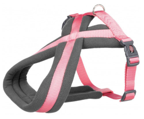 Trixie - Premium Touring Padded Harness Flamingo