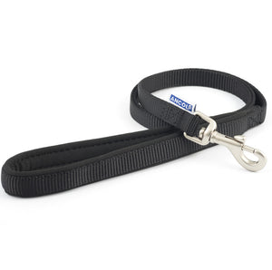 Ancol - Padded Nylon Lead Black
