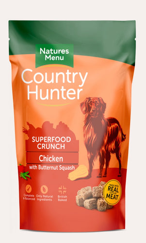 Natures Menu - Country Hunter Superfood Crunch Chicken & Butternut Squash 1.2kg