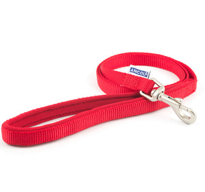 Ancol - Padded Nylon Lead Red