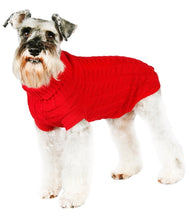 Load image into Gallery viewer, Urban Pup - Red Waffle Knitted Sweater