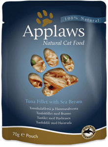 Applaws - Tuna Fillet with Seabream (12x70g)