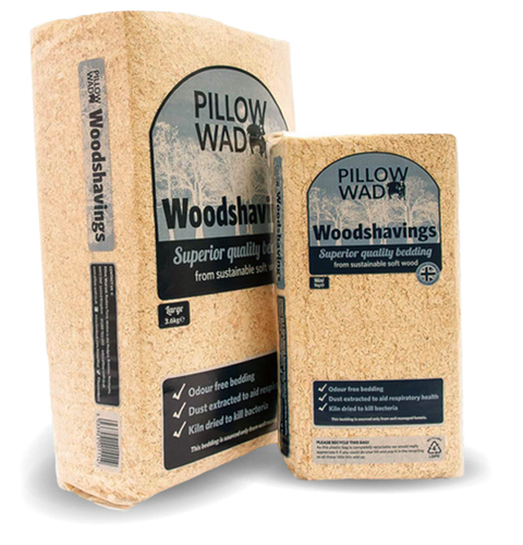 Pillow Wad - Woodshavings