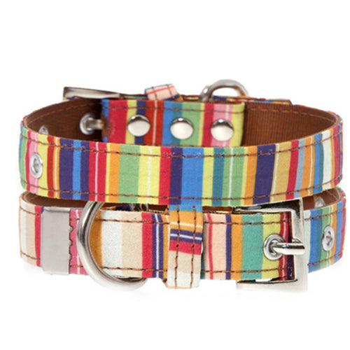 Urban Pup - Henley Striped Fabric Collar