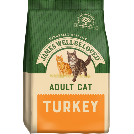 James Wellbeloved - Adult Cat Turkey