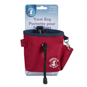 Company of Animals - Treat Bag Red