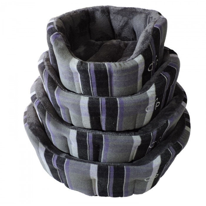 Gor Pets - Camden Deluxe Bed Purple Check