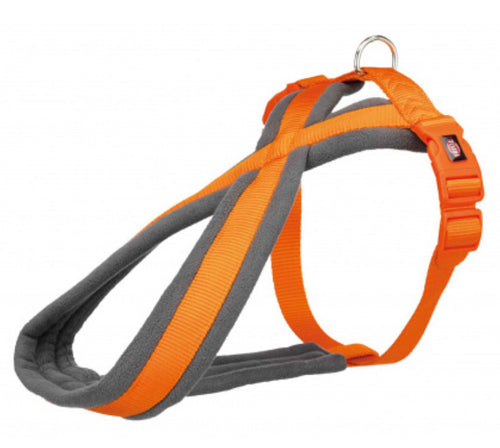Trixie - Premium Touring Padded Harness Orange