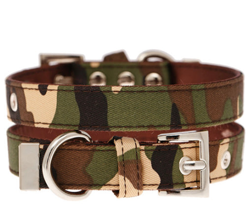 Urban Pup - Camouflage Fabric Collar