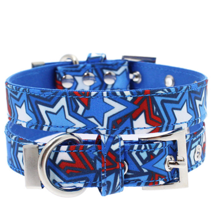 Urban Pup - Hero Star Fabric Collar