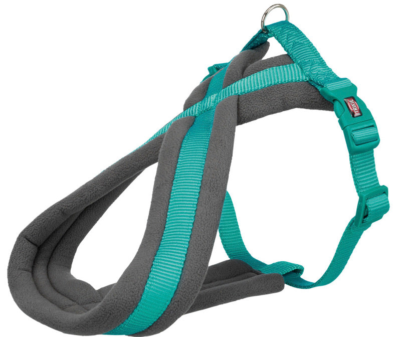 Trixie - Premium Touring Padded Harness Ocean