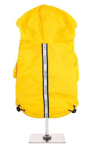 Urban Pup - Explorer Windbreaker Sport Jacket Yellow