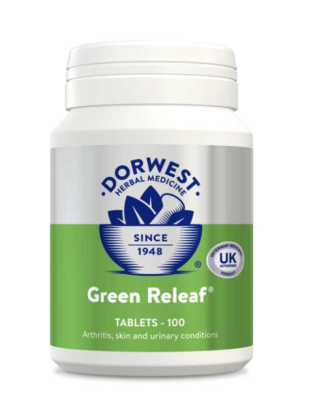 Dorwest - Green Relief Tablets