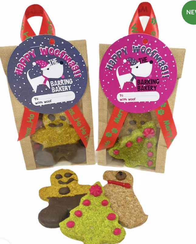 The Barking Bakery - Yappy Christmas Biscuits