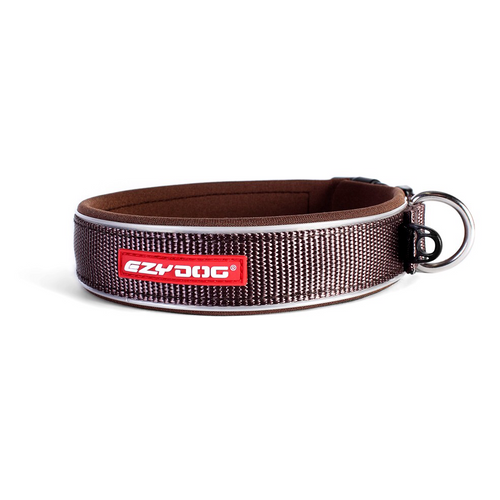 EzyDog - Chocolate Neo Classic Collar