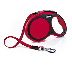 Flexi - Comfort Retractable Tape Lead Red