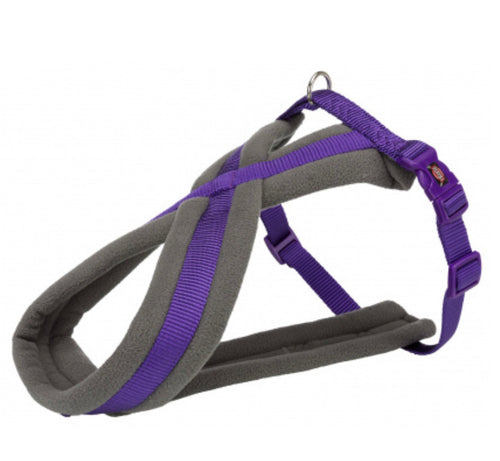 Trixie - Premium Touring Padded Harness Violet